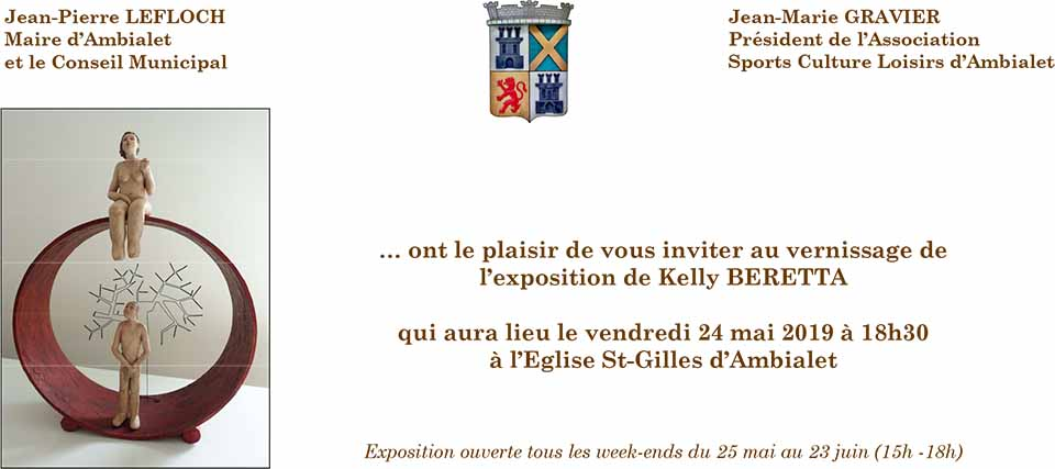 Vernissage Kelly et Eric Beretta - L'Art de Rien